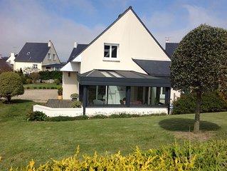 Location maison bord de mer avec jardin terrasse et veranda