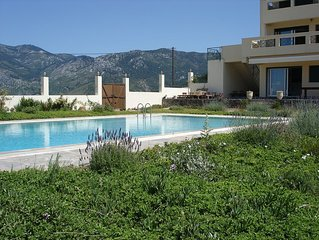 Secluded Villa with Private Pool on the Unspoilt Island of Evia
