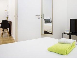 Apartamento com 1 quarto no centro historico de Leiria!