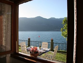 Bellagio Villas - La Bohème with garden directly on the Lake