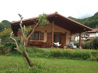 Casa con jardín (Bertiz-Valle de Baztan)
