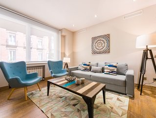 Stylish & Central 2BR Home next to Debod
