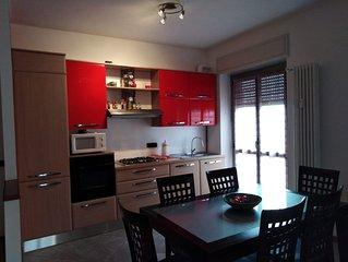 Intero appartamento 93 mq 2 stanze comodo fiera Milano Como Malpensa