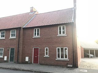 Gable End, stunning 3 Bed town house in beautiful North Norfolk market town