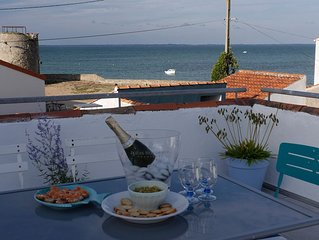Wonderful stylish 3* Beach house just 30m from seashore, Noirmoutier, France