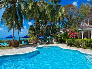 3 Bedroom Barbados Villa Located On The Beautiful Gibbs Beach With Communal Pool