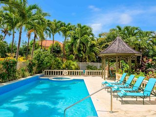 LUXURY APARTMENT WITHIN STEPS OF MULLINS BEACH ON BARBADOS WEST COAST