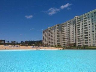 Apartamento Departamento Condominio Laguna Bahia Algarrobo