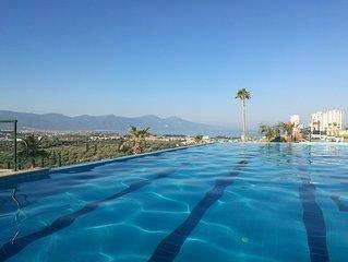 Luxus-Ferienwohnung mit unverbauten Blick auf das Meer und den Nationalpark
