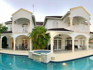 Beautiful spacious holiday home with private pool near Sandy Lane