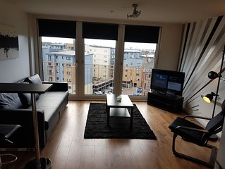 Beautiful Modern 1 Bedroom Apartment Close To City Centre