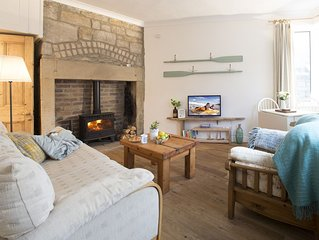 Quirky, beach inspired cottage on the fabulous Northumberland Coast.