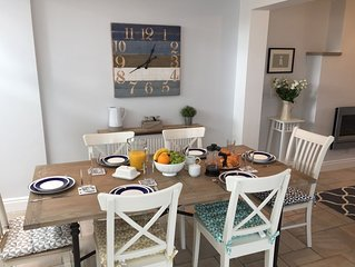 Enjoy the best views in Lymington from this stylish cottage overlooking the sea