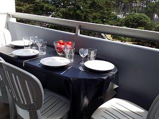 location appartement quiberon(2/6 pers)