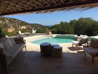 Luxury and seaview Private Villa in Porto Cervo