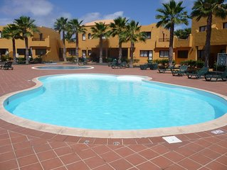 Comfortable Corralejo home from home in the sun- superb location