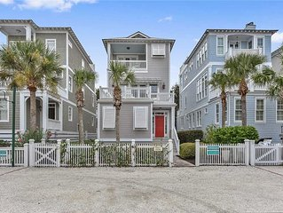 Multi Story home in seaside development with community pool and direct beach acc