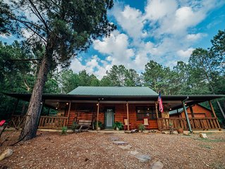 Charming place to spend the perfect weekend in the Kiamichi Mountains!