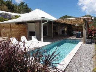 Villa de charme entre mer et montagnes avec piscine privative