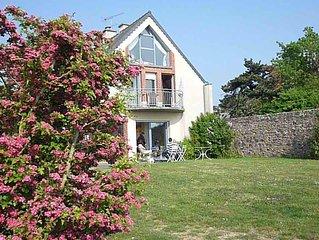 Villa, bord de mer, dans la baie du Mont Saint Michel    pour 6 personnes
