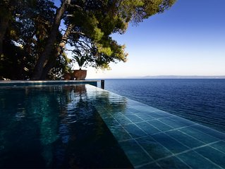 Exclusive Villa Rosemarine Right on the Adriatic Sea- Fully Serviced