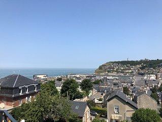 Appartement moderne vue Panoramique sur la mer
