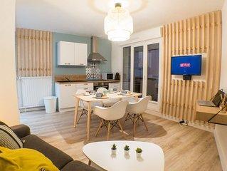 Appartement 'Le Cocon avec balcon'