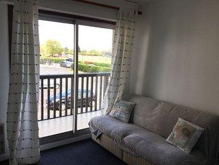bel appartement ensoleillé 2 pièces proche plage et marais de villers