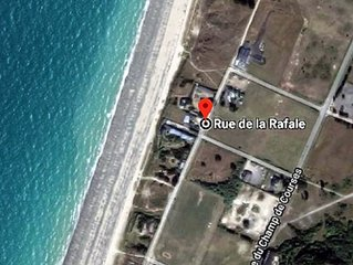 Gite-bord de plage, terrasse et parking prives