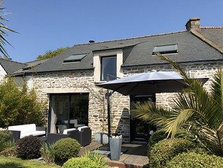Maison entre Sarzeau et Vannes avec piscine privée