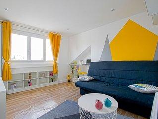Appartement tout equipe en centre ville du Havre, PROCHE DE TOUT !!!