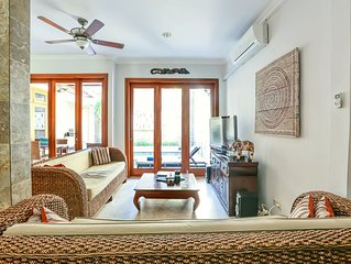 Spacious Four Bedroom Kuta Villa - Perfect For Families & Groups