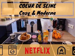 Coeur de Seine - (COSY & MODERNE)
