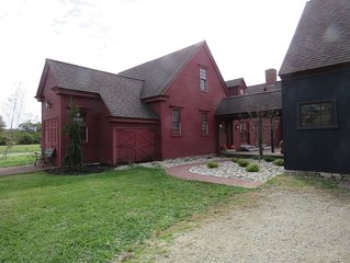 You're goin' love this one of a kind property; secluded on 26 acres, sleeps 12+