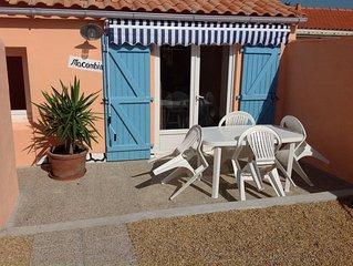 Jolie maison neuve située sur l'île de Noirmoutier près du gois