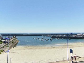 Location QUIBERON face mer plein sud terrasse 31m2