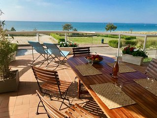 Front de mer - Carnac Plage - Appartement de Standing 120 m² - Terrasse  40 m²