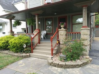 Charming Historical Home--5 Min To Downtown/Metrohealth