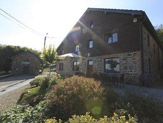 Gites familial  IRIS  Belgique en Ardenne  13  personnes  avec Sauna IR