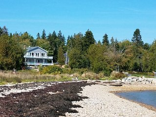 'Decked Out' Downeast, A spacious, comfortable oceanfront house