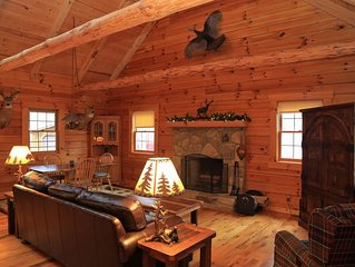 Catch some R&R with Timber Lodging (Non-Smoking Cabin)