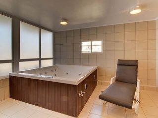 Depto central con servicio de sauna y jacuzzi - Central apt with jacuzzi service