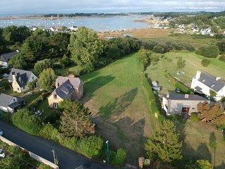 Villa 10 pers a 100m de la mer Bretagne Port-Blanc