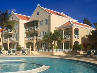 Port Bonaire A701- Lovely oceanfront condo, with onsite dive school