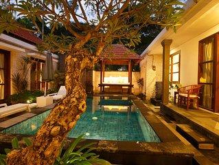 Bali Sanur Beach Villas, Modern 3 BR Villas, Central Sanur