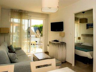 Residence Les Jardins d'Arvor**** - Vacances Bleues - 3 Pieces Cabine 6 Personne