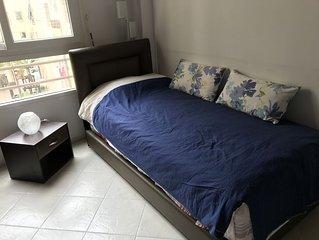 Appartement est proche de la gare Casa-Port et de la Mosquée Hassan