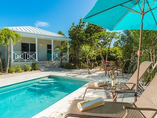 New Listing - Sea Grape  Guest House - Leeward,  3 blocks to beach