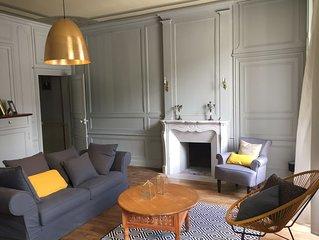 Appartement cosy dans une maison d armateur datant du XVIII é siècle