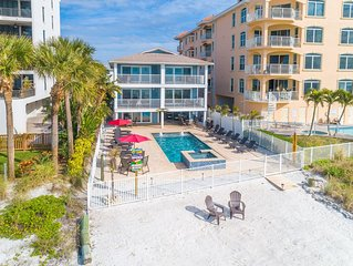 Newly Renovated building -13/9 Direct Beachfront with Pool-  5 Unit Building